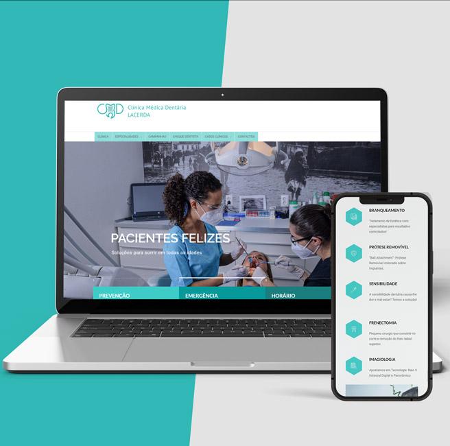 website-institucional-clinica-dentaria