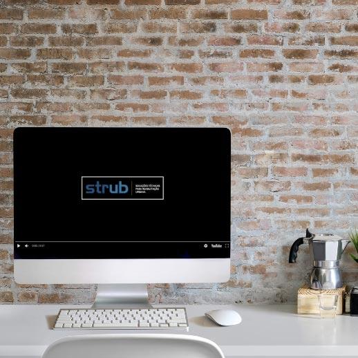 Vídeo Institucional – Redes Sociais – Empresa Construção & Reabilitação